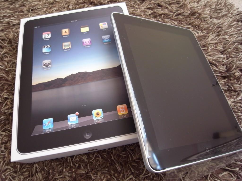 新鮮、驚き、iPad