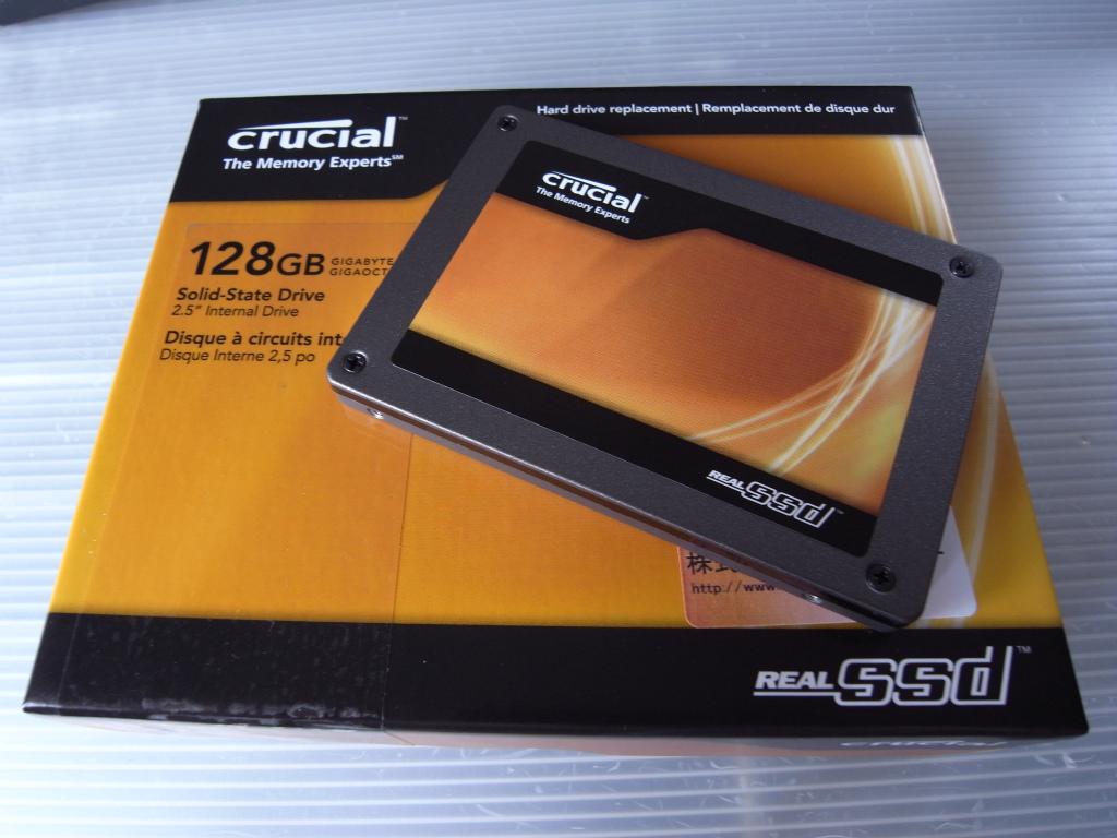 二代目SSD購入