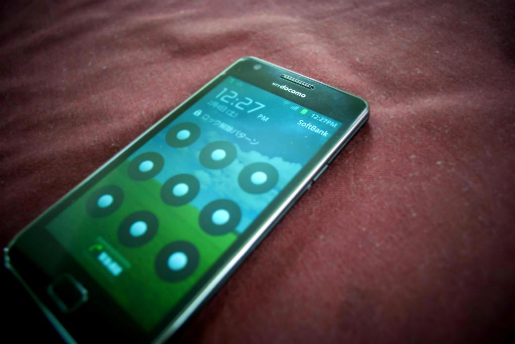 iPhone SIMを挿したGalaxy S2を使ってみて