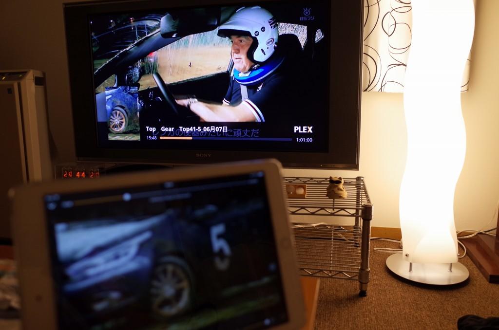 iPadとChromeCastでts再生可能に。いつの間にかPlexが完全対応してた。