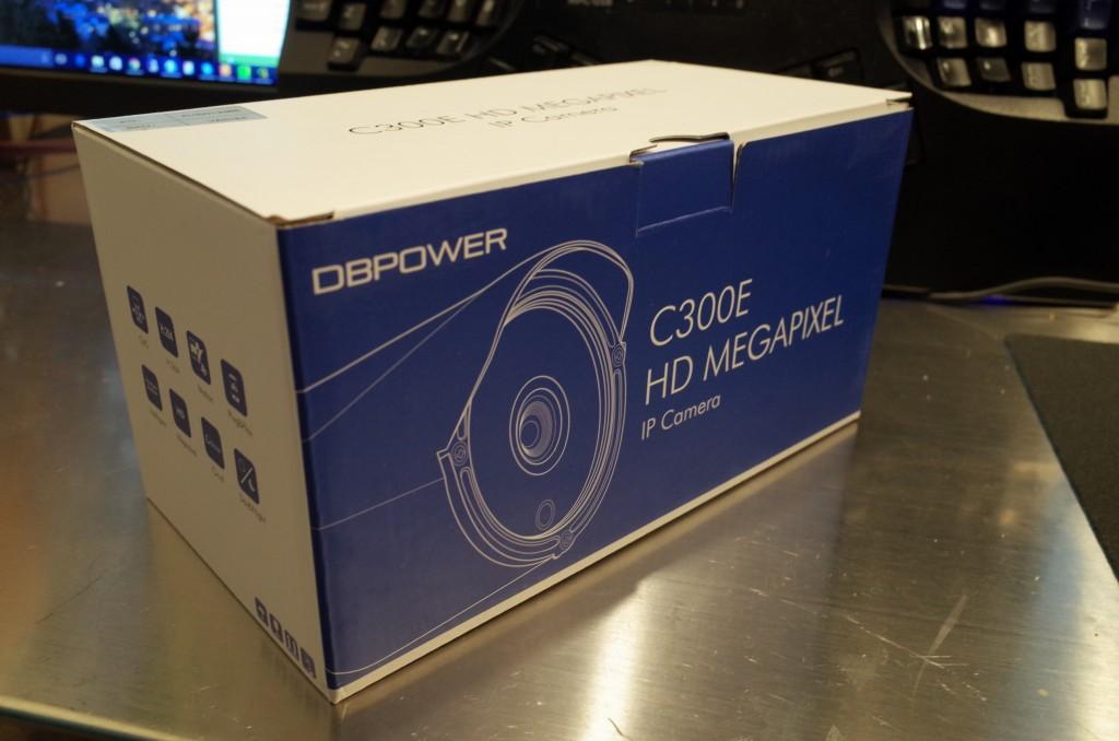 屋外で使える本格的Wi-Fi監視カメラ DBPOWER C300E