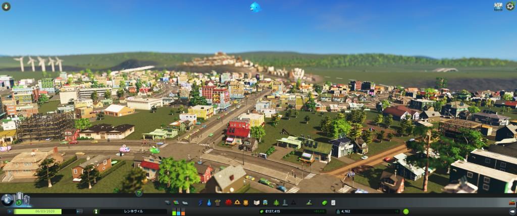 SIMCITYからCities: Skylinesに引っ越して市長業を再開
