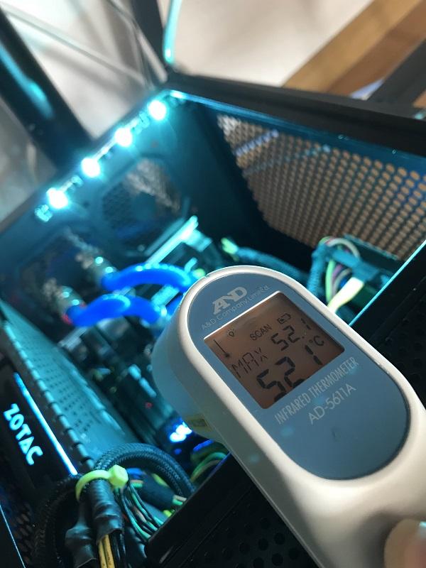 Intelの6コア/12スレCPU Core i7 8700kでMini-ITXマシンを刷新 -完成編-