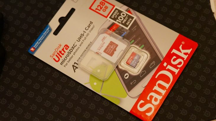Chuwi Hi9 Pro用に128GBのMicroSDを買ってみた
