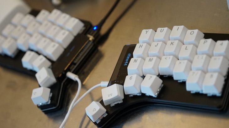 自作キーボードへの第一歩。 #Claw44 を組み上げる。