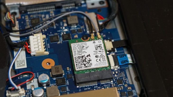 Intel AX200モジュールでゲーミングノートPCを最新Wi-Fi6化